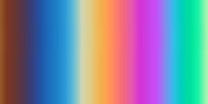 Titán színezés - színskála